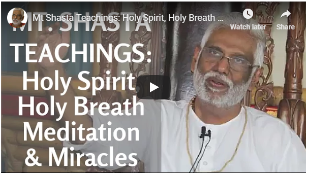 Holy Spirit, Holy Breath Meditation & Miracles