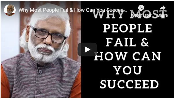 Why Most People Fail and How to Succeed in Life