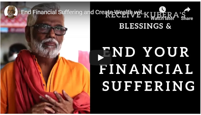 End Financial Suffering and Create Wealth with Kubera's Blessings