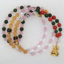 Shreem Brzee Mala With Coral