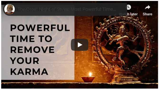 The Great Night of Shiva: Most Powerful Time to Remove Your Karma